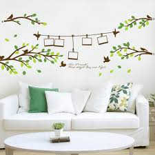 hot selling 200 80cm photo frame tree birds 3d wall decals hot selling 200 80cm photo frame tree birds 3d wall decals stickers 830 home decorations living room wall arts poster nursery decals nursery room wall