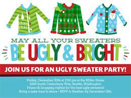 bright sweaters invite smilebox