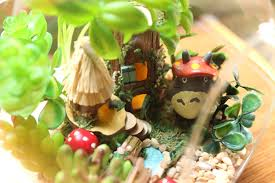Studio Ghibli Decor Studio Ghibli My Neighbor Totoro Miniatuart Home Decor Totoro Set
