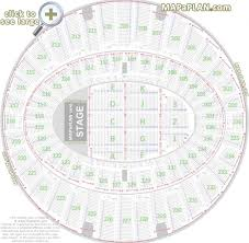 elegant madison square garden seating chart with seat numbers