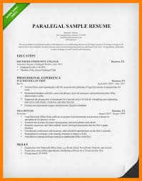 Sample Litigation Paralegal Resume by 4 Paralegal Resumes Appraisal Letter