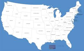 Most Beautiful Us States Map Of The Usa Beautiful Pictures And Desktop Backgrounds High