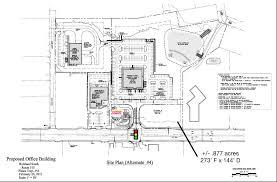 site plan preliminary rendering