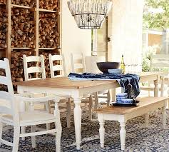 102 Best Design Trend Artisanal Benchwright Fixed Dining Table Pottery Barn White 102 Best Design