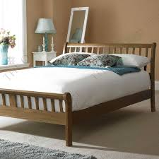 remarkable grace solid oak rattan bed frame and best 25 oak bed