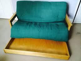 vintage futon sofa bed with storage u2014 modern storage twin bed