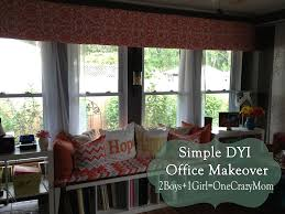 Diy Window Treatments by Make Your Own Diy Window Valance In No Time An No Sew 2 Boys