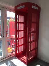 Phone Booth Bookcase Telephone Box Ebay