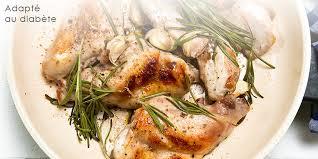 lapin cuisine marmiton lapin à l ail et au romarin recette adaptée au diabète onmeda fr