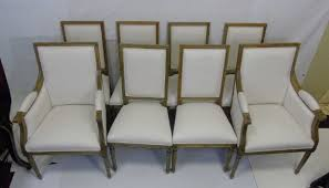 of 8 safavieh french louis xvi dining chairs