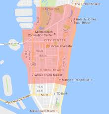 Miami Beach Hotels Map by South Beach Miami Curbed Miami