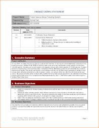 8 project scope statement template writable calendar