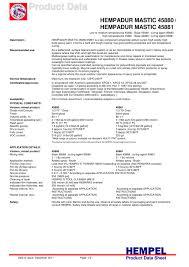 hempadur mastic 45880hempadur mastic 45880 hempel pdf