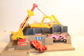 barbie jeep power wheels 90s wheels world wreck yard car crusher 90s diecast toys playset