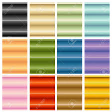 an image of window blinds shades set royalty free cliparts