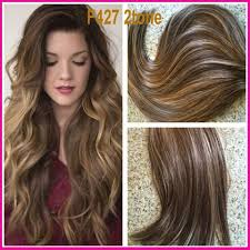 Brazilian Extensions Hair by 10a F327 2 Tone Remy Hair Bundles Virgin Brazilian Hair Weaves 100