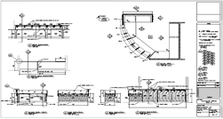 Reception Desk Plan Ulterior Design Shop Drawings