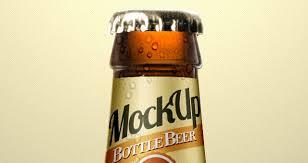 beer bottle psd mockup template psd mock up templates pixeden