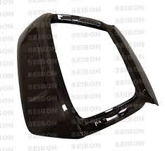 lexus is300 vs honda civic oem style carbon fiber trunk lid for 2002 2005 honda civic si