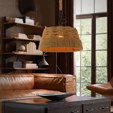 creativeloft vintage hemp pendant light industrial handmake pendant