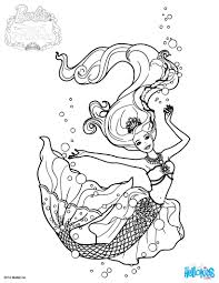 barbie coloring pages sheets games mermaid to print free barbie