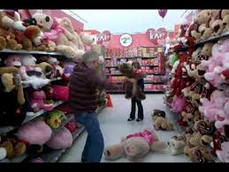 stuffed teddy bears walmart com wrestling moves on a valentine bear in walmart youtube