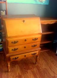 antique secretary desk before and after decorate my life