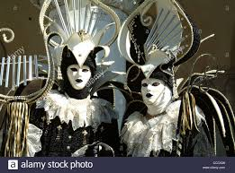 venetian carnival costumes venice carnival costumes and masks stock photo royalty free