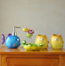fish themed bathroom accessories home interior design ideas