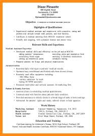 Office Assistant Resume Template 12 Sample Resume For Medical Office Assistant Azzurra Castle