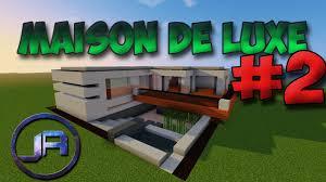 Maison Modern Minecraft by Tuto Maison De Luxe Moderne Sur Minecraft 2 Youtube