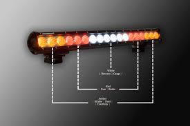 rear race light bar lazer star lights