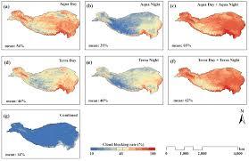 Tibetan Plateau Map Daily Mean Air Temperature Of The Tibetan Plateau 张宏波的小作坊