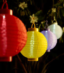 Outdoor Christmas Decorations Warehouse by Rouge Living Led Multi Coloured Solar Hanging Lanterns 4 Pack