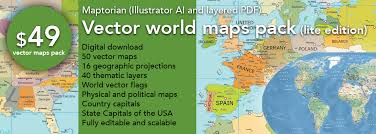 illustrator usa map outline 2 vector world maps pack lite edition maptorian