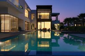 modern house design with swimming pool home ideas trends of