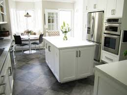 kitchen floor ideas with cabinets flooring kitchen what are the options for the floor design in