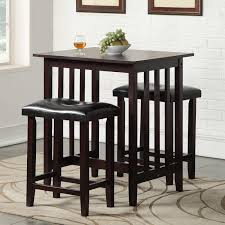 Andover Mills Richland  Piece Counter Height Pub Table Set - Kitchen bar stools and table sets