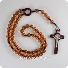 religious jewelry stores new resin rosary benedict medal inri jesus cross