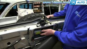 how to install replace rear wiper motor 2002 07 jeep liberty youtube