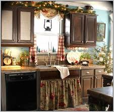 Christmas Window Curtain Ideas by Lovely Curtains Kitchen Cabinet For Christmas Moment 9571