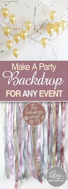 party backdrops make a party backdrop for any event