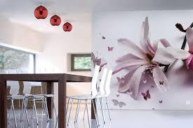 papier peint trompe l oeil cuisine papier peint deco fleur de chrysalide izoa