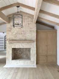 how to painting the stone fireplace white stone fireplaces
