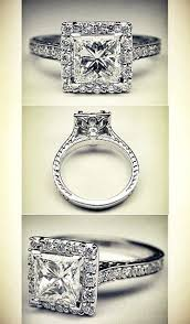 Princess Wedding Rings by Your Guide To Princess Cut Engagement Rings