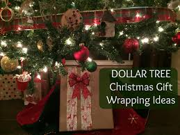 dollar tree christmas gift wrapping ideas youtube