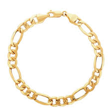gold bracelet chains images Made in italy mens 9 inch 14k gold chain bracelet jcpenney