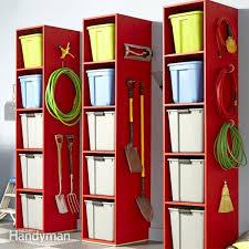 Diy Folding Chair Storage Garage Storage Diy Tips And Hints Family Handyman