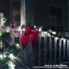 Christmas Decorations For A Front Porch Columns by Outdoor Christmas Light Decorating Ideas To Brighten The Season