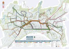 Urban Map Granada Bus Network Map Routes Connections And Stops